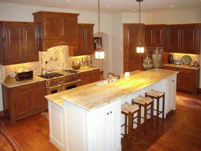 interior design austin | kitchen with island | austin, texas