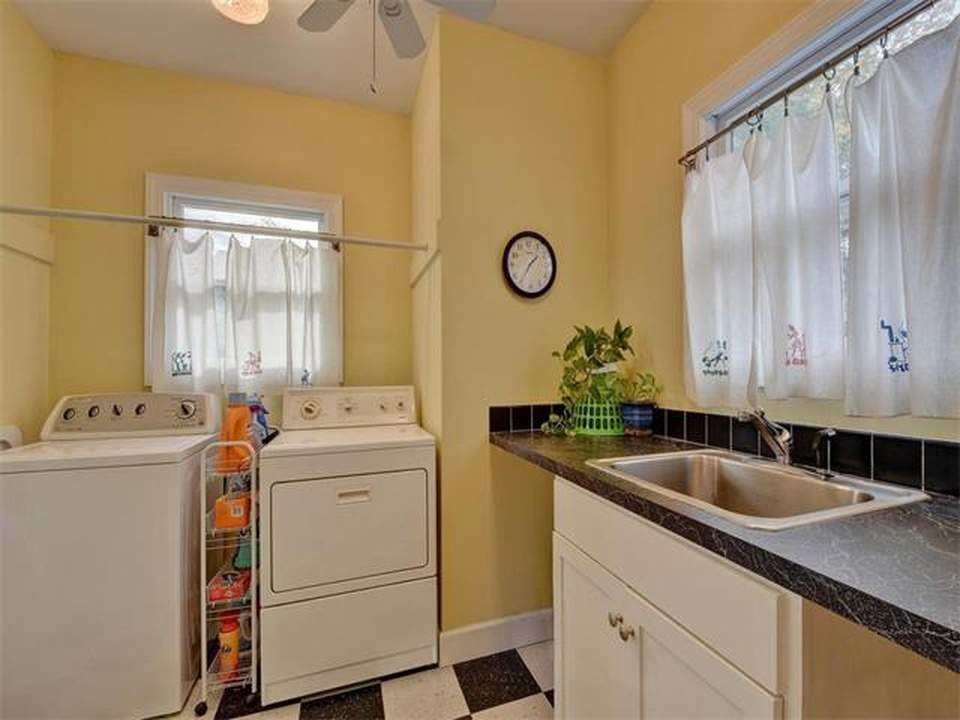 home interiors Austin | bryker woods laundry room before| austin, texas