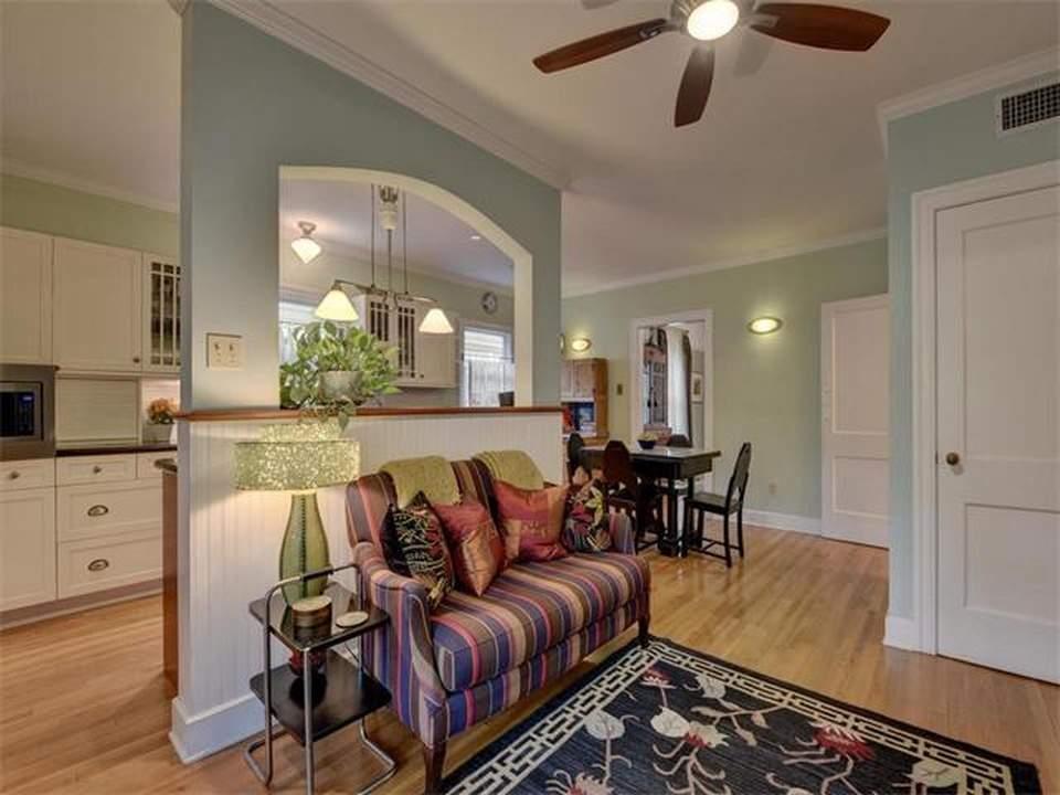 home interiors Austin | bryker woods kitchen wall before | austin, texas