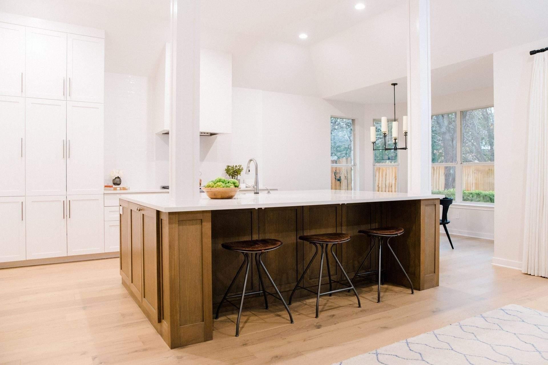 kitchen remodel in Austin Texas   travis country kitchen remodel with sink in island 15   austin, texas