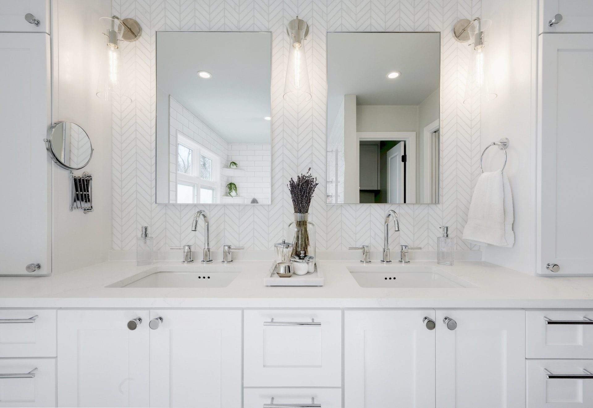 Allandale - interior design Austin | a master bathroom redesign with a white color palette in the Allandale neighborhood in Austin, Texas | austin, texas