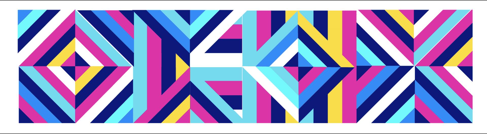 design austin | geometric mural | austin, texas