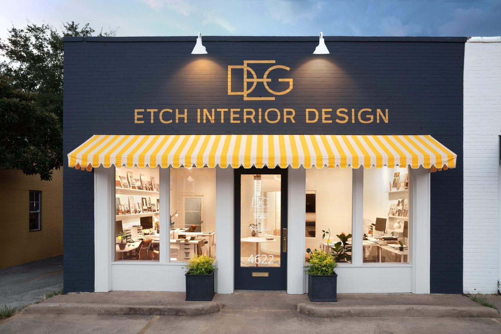 design austin | etch interior design exterior of office front view | austin, texas