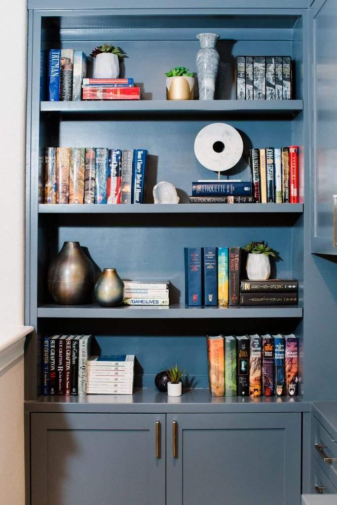Northwest Balcones - interior design austin | build in bookcase | austin, texas