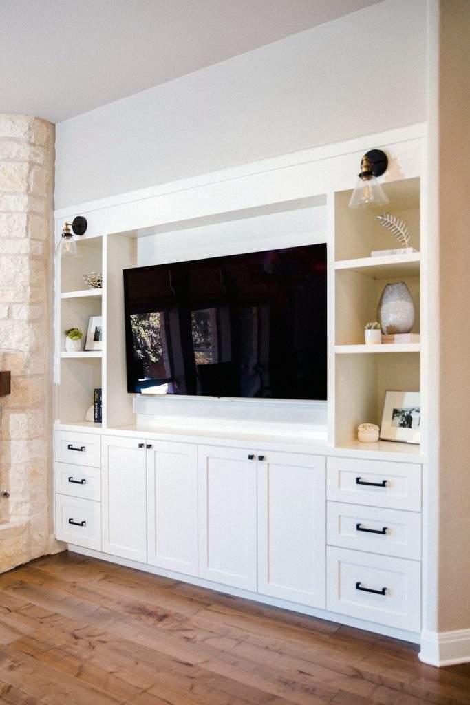 Northwest Balcones - interior design austin | build in entertainment center | austin, texas