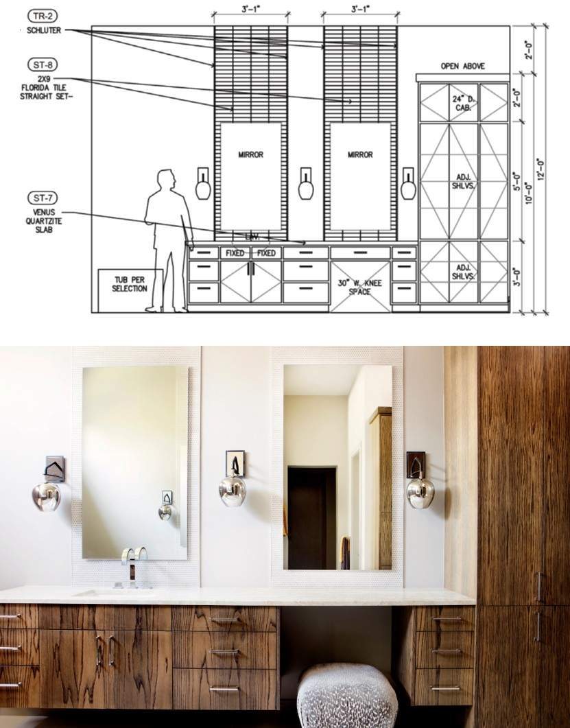 remodel design process | remodel design process through out, kitchen, closets 1 | austin, texas