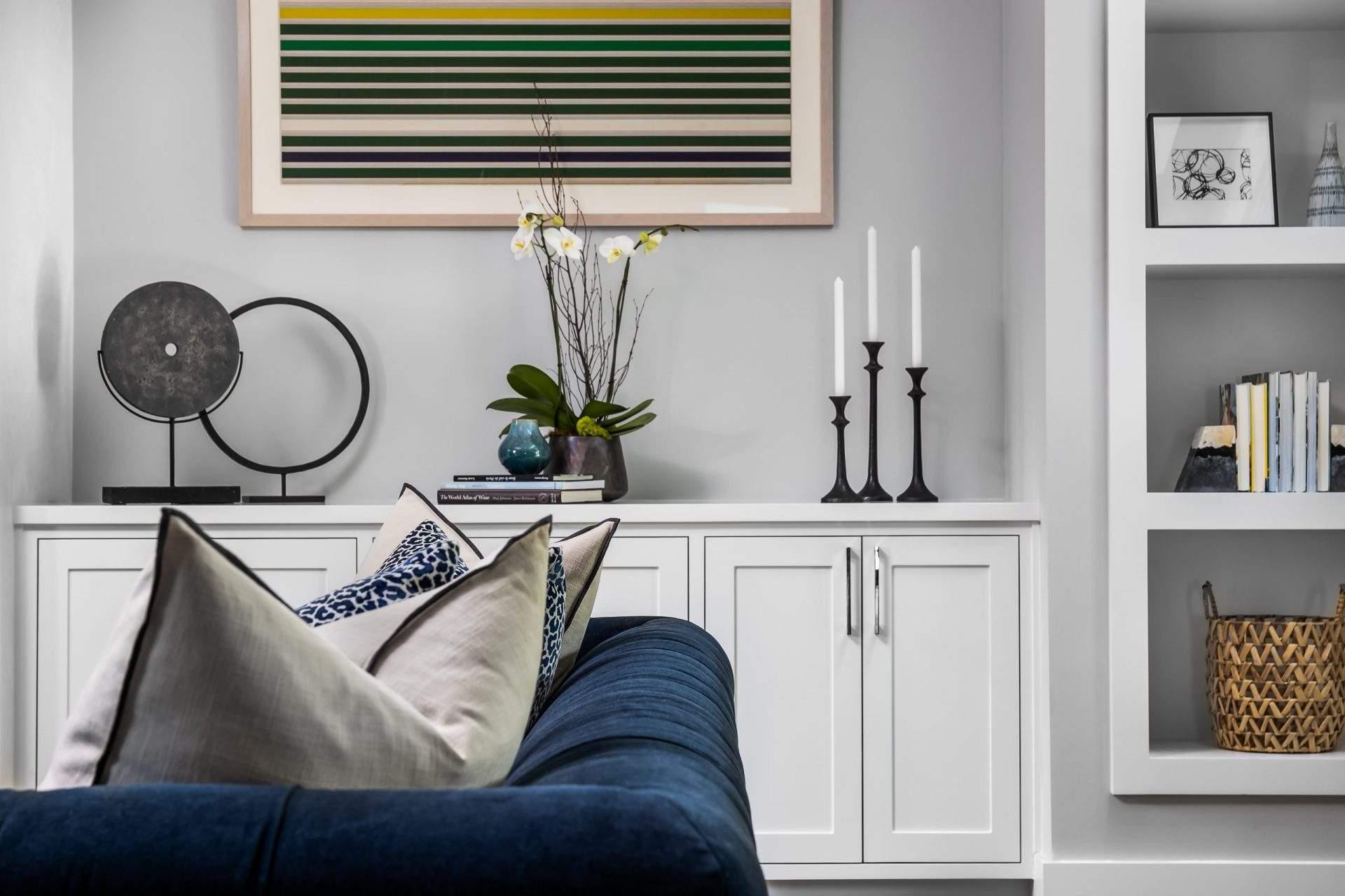 Interior Design, Sideboard with decor, Etch Interior Design, Austin, Texas