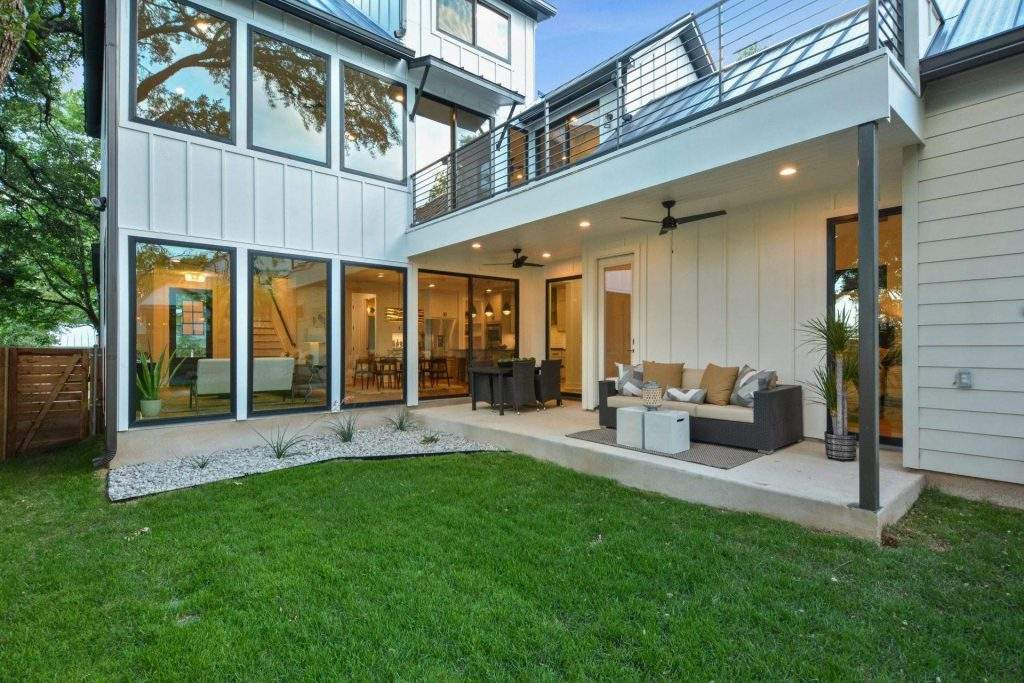 Interior Design, Outdoor Living area, Etch Interior Design, Austin, Texas